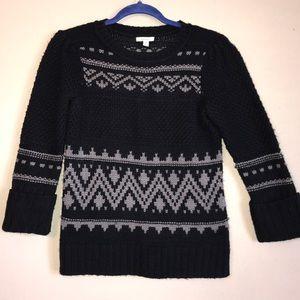 Caslon acrylic 3/4 sleeve sweater